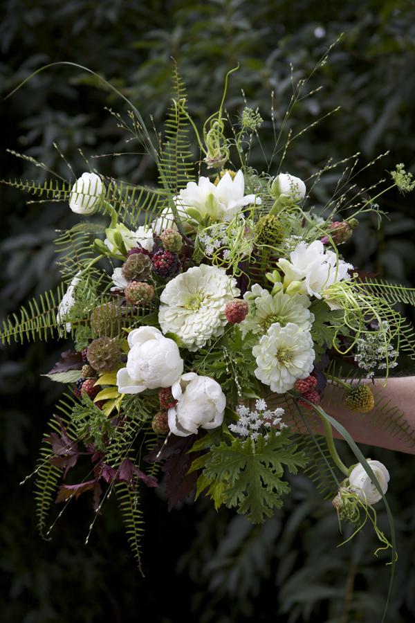 Woodland Bridal Bouquet by Linda Darnell