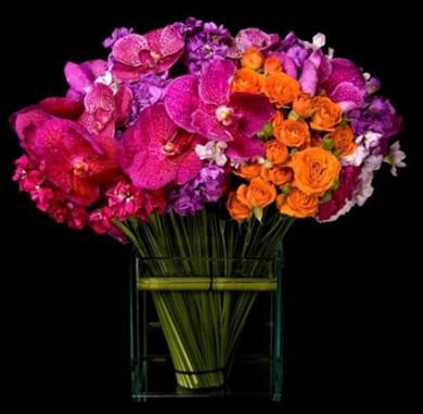 contemporary flower design