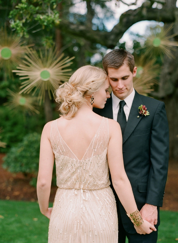 glamour and gold wedding
