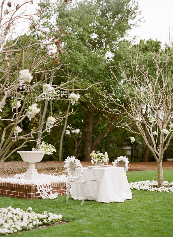 all white wedding decorations