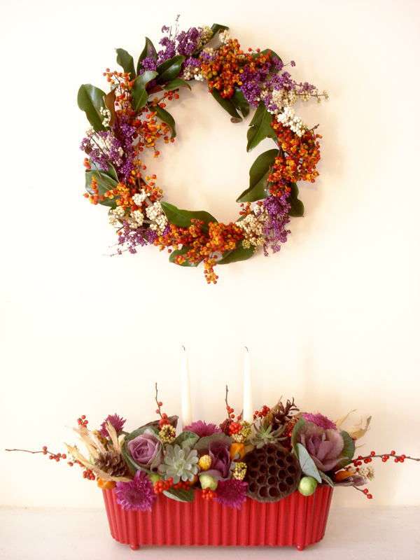 fall floral designs