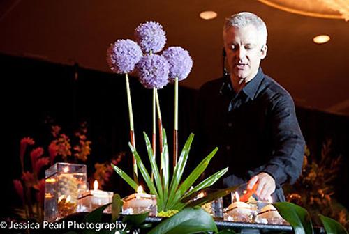 florist demonstration