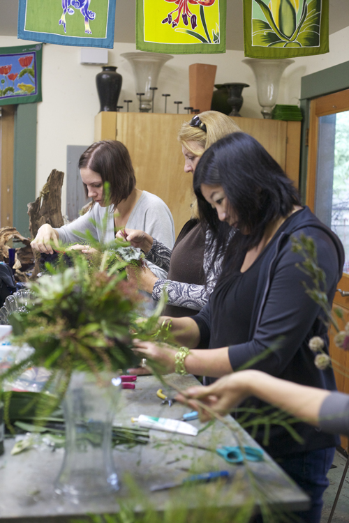 floral designers working