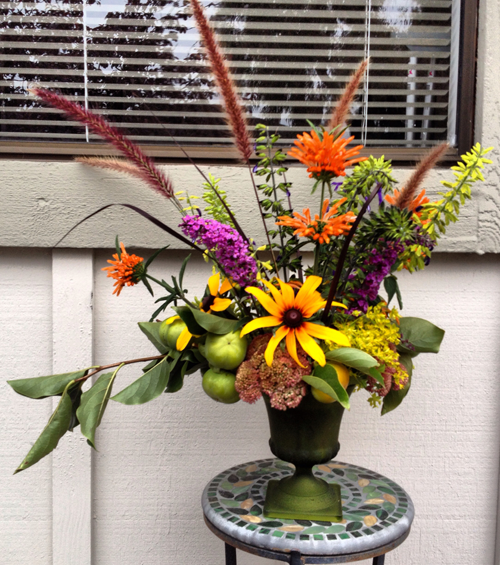 arrangement with Persimmons