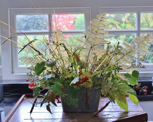 all foliage centerpiece
