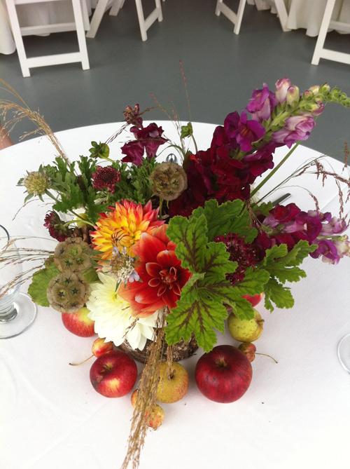 Autumn harvest centerpiece