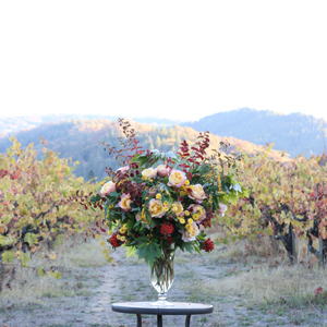 Seattle Floral Design Class - Creating Altar Arrangements