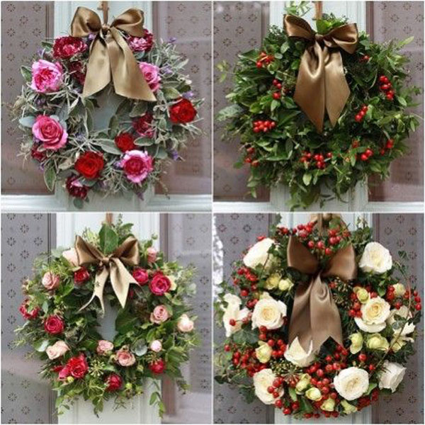 English Christmas Wreaths