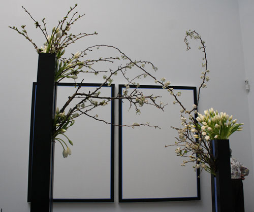Natalie Bowen at SF Bouquets to Art