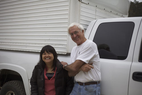 6/4 - Visited Louie Figone's flower farm with Nancy Liu Chin, fabulous day! Half Moon Bay, California