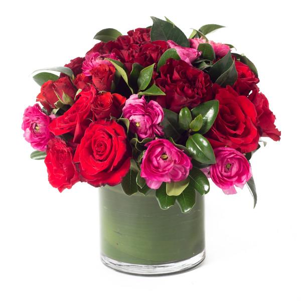 Chucks 2013 year in review flirty fleurs the florist blog pink red green flower arrangement mightylinksfo