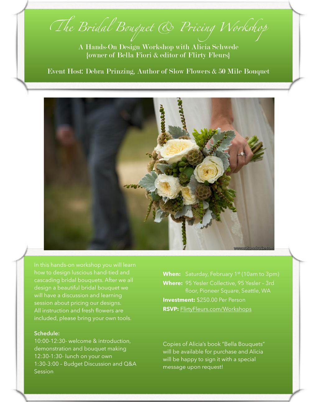 Seattle Flower Workshop
