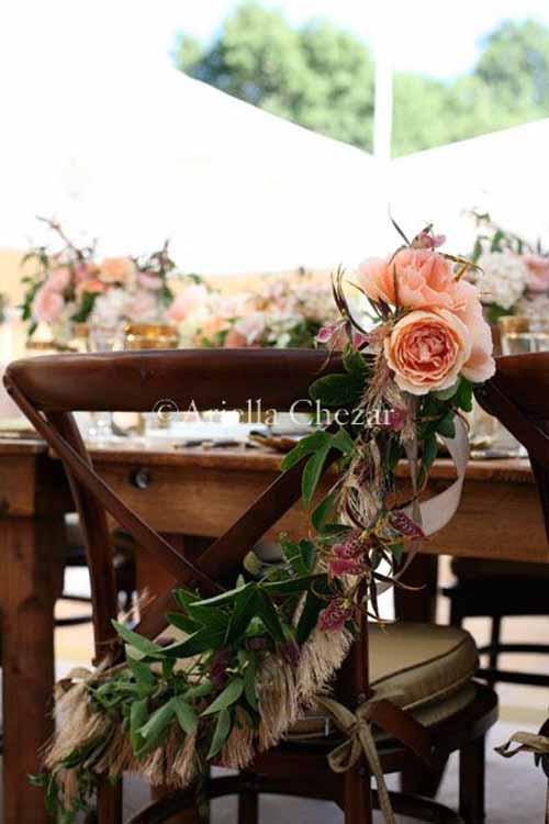 Wedding Wednesday :: Bride & Groom Chairs