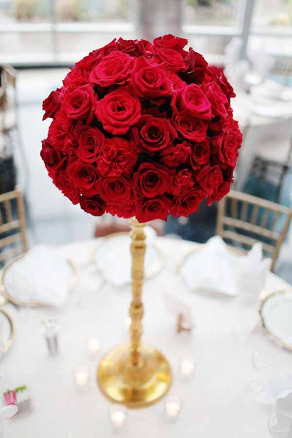Wedding Wednesday    Red Inspiration