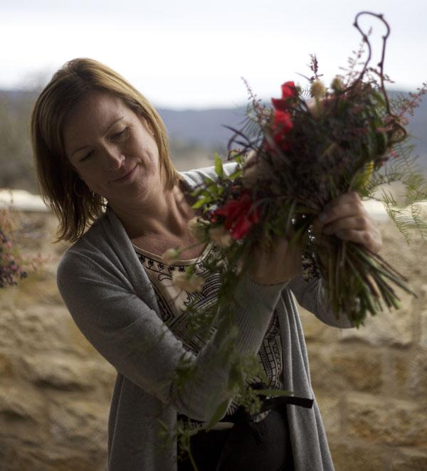 Susan Kelly of Three Sisters Flowers