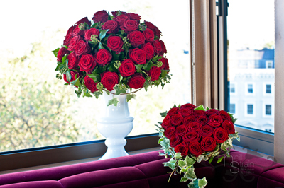 Neill Strain, Red rose centerpieces