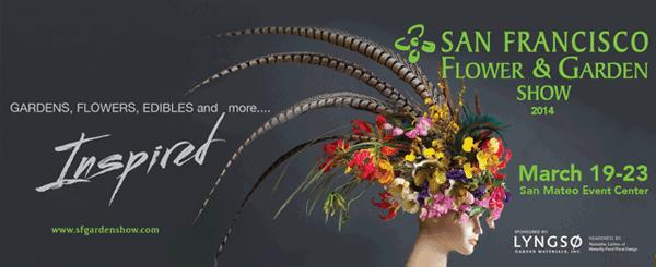 Announcements of floral expos webinars workshops flirty fleurs the florist blog for San francisco flower and garden show