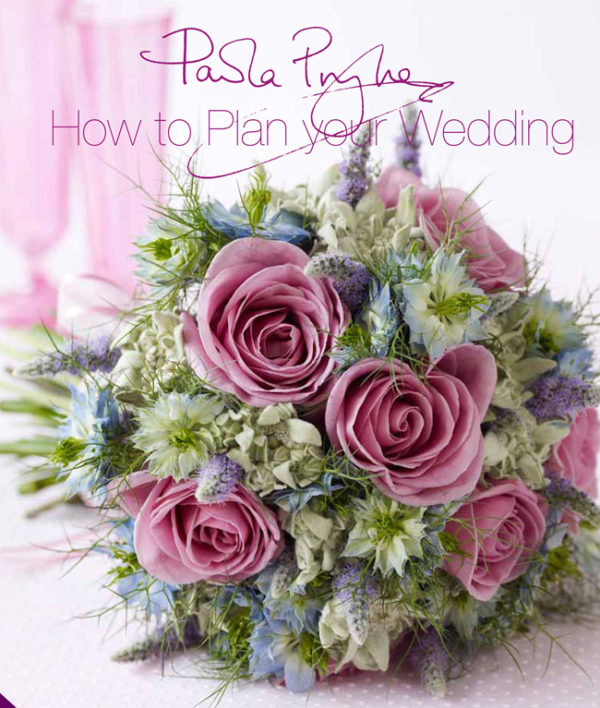 Paula Pryke, How to plan your wedding book cover