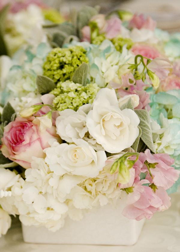 Flourish flowers,  Penny Sylvia Photography, white hydrangea, pink roses, pink sweet peas, white roses