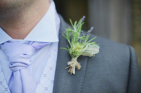 Jay Archer Floral Design, Herb boutonniere