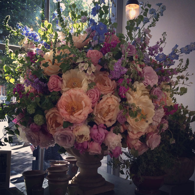 Flower Arrangement by Wild At Heart in London