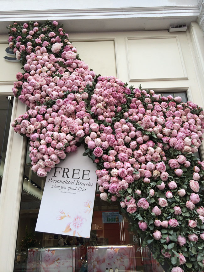 Chelsea In Bloom - Peony Display