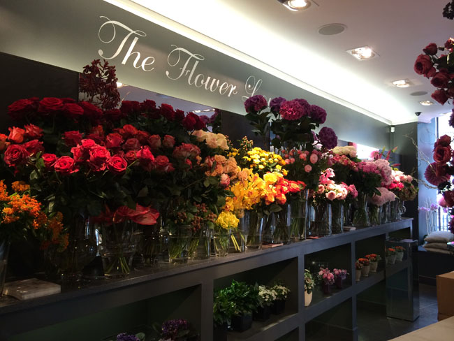 Neill Strain's Flower Shop in London