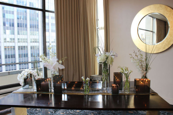 The Arrangement NYC, Contemporary Floral Design with White Flowers.