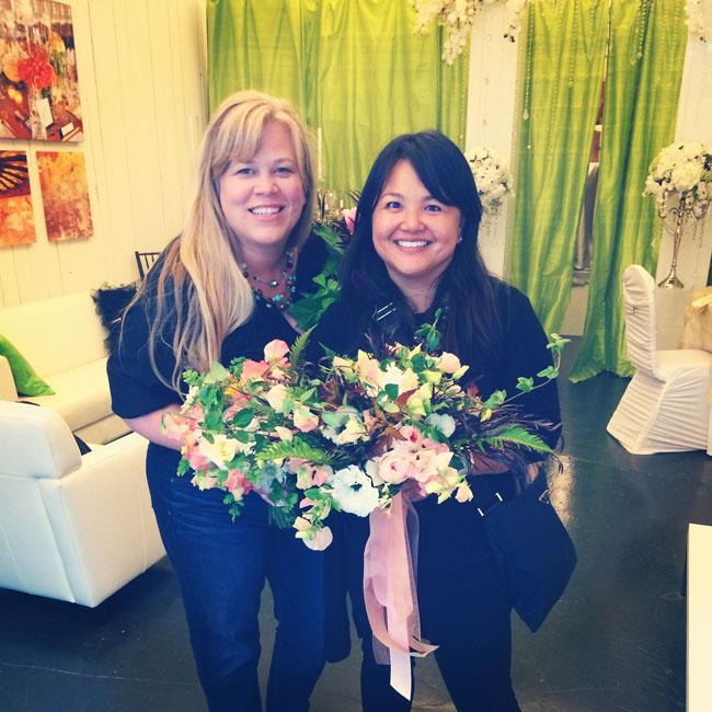 Alicia Schwede and Nancy Liu Chin in Seattle
