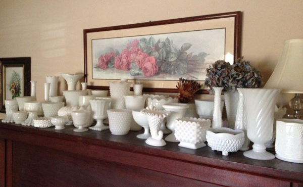 Fleurie - Milk Glass Collection