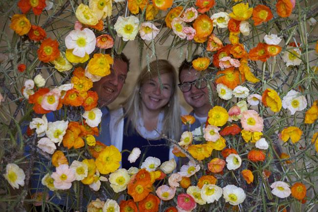 Florabundance Design Days & Chapel Designers Conference - Joost, Holly & Joe