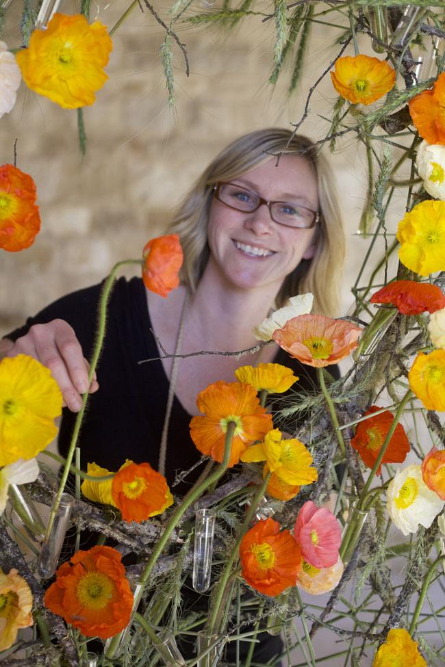 Florabundance Design Days & Chapel Designers Conference - Katie Noonan AIFD