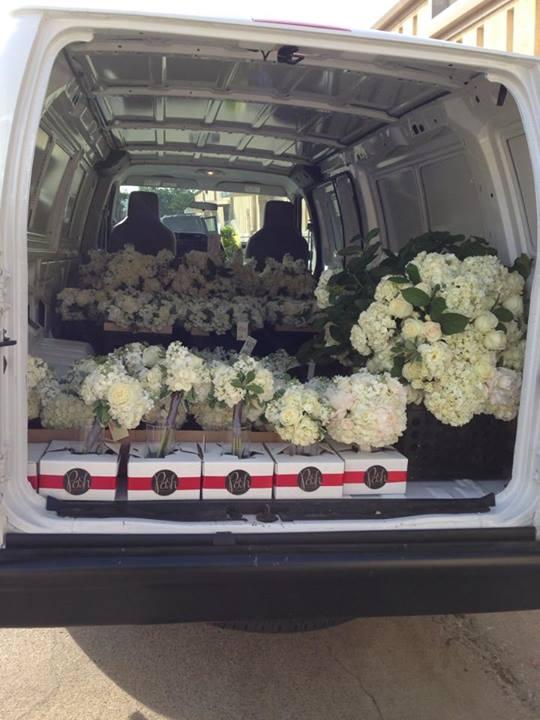 Posh Florals - Transporting Flowers