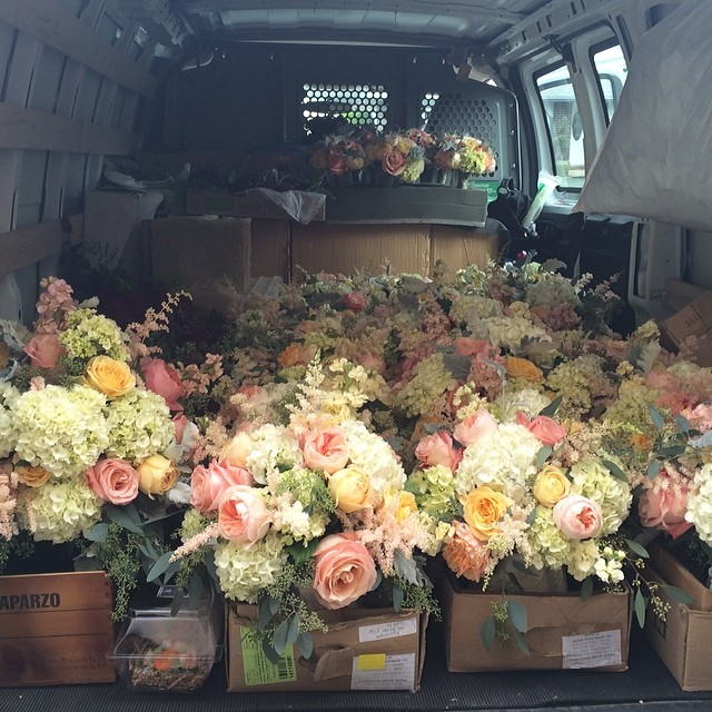 Sophisticated Floral Design - Transporting Flowers