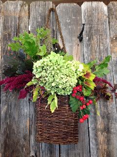 Nature's Grace Design - Fall foliage design
