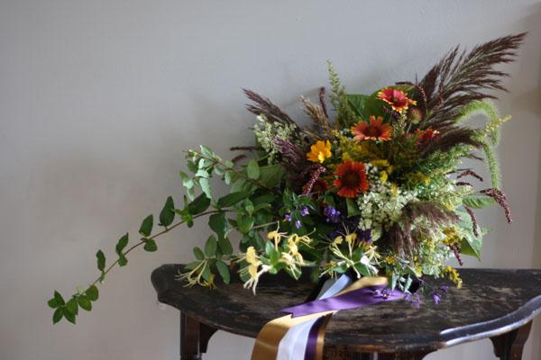 Tracey Reynolds Floral Design - Fall Foliaged Design
