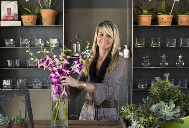 Colleen of LaFleur Plantscapes + Fresh Flora