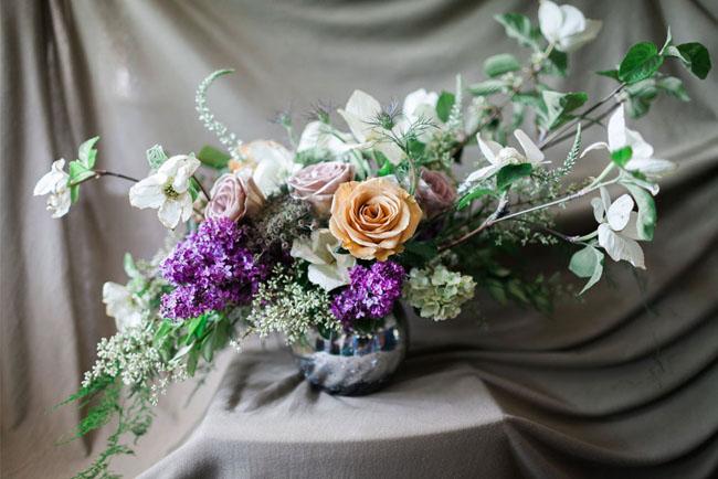 Jenn Sanchez Flower Arrangement