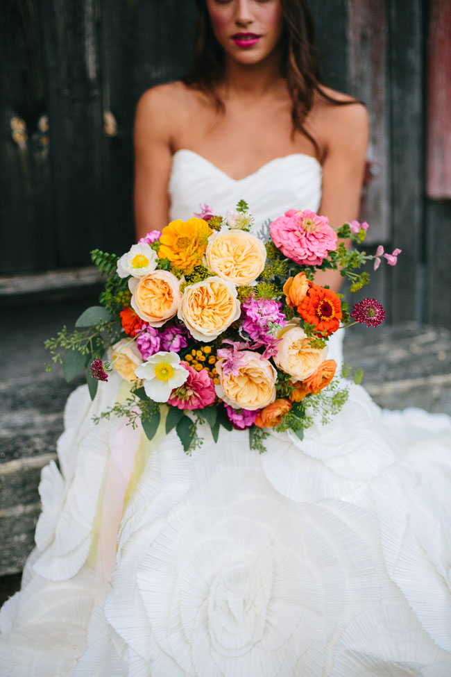 Village Green Florist - Garden Rose Bouquet