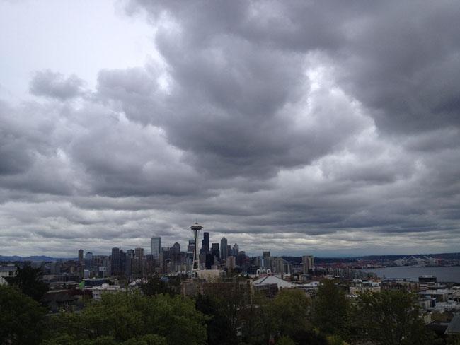 Overlooking Seattle