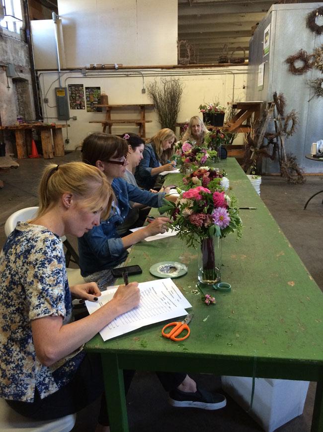 Flirty Fleurs Workshop