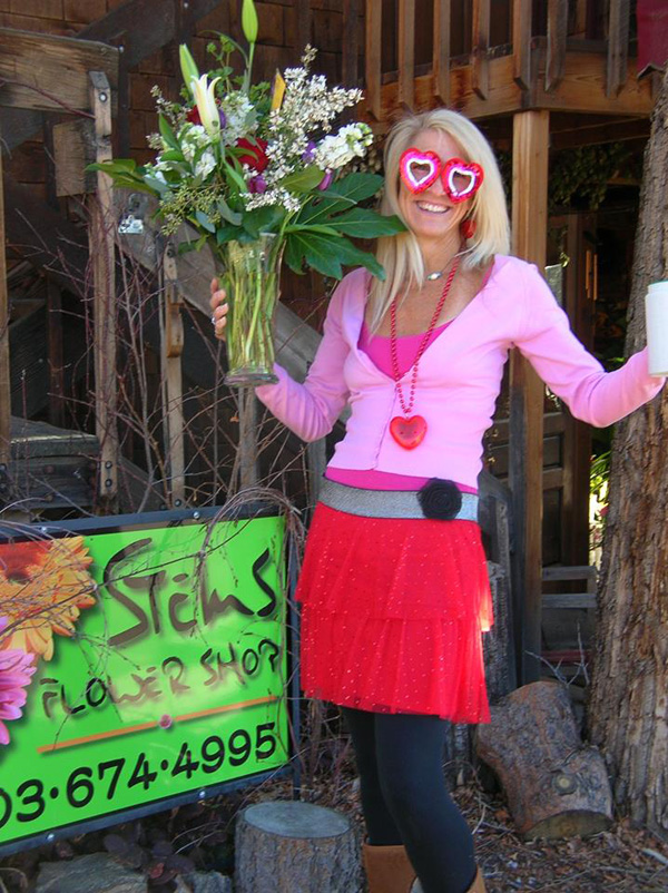 Fun & memorable floral deliveries by Cupid in by Stems in Evergreen, Colorado!