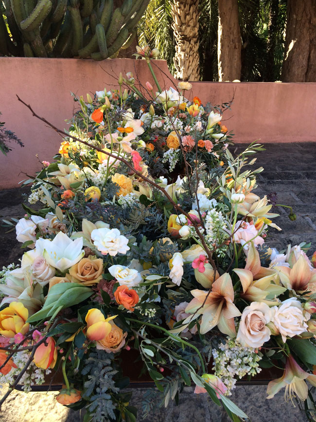 Florabundance donates all the flowers to the Dream Foundation