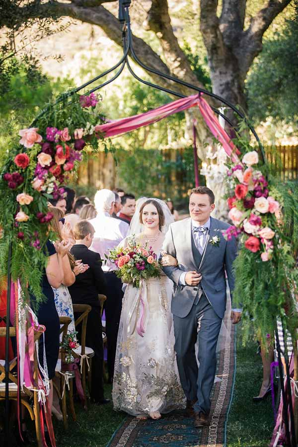 Pixies Petals, Floral Arch for ceremony