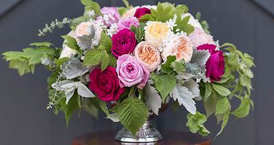 David Austin Garden Roses Flirty Fleurs Floral Design Class Seattle