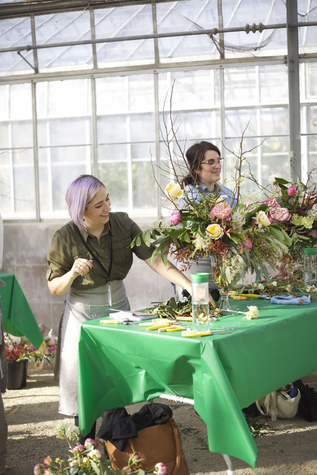 Florabundance Design Days 2016 - Heather of Eclectic Sage and Heather of Bramble and Bee
