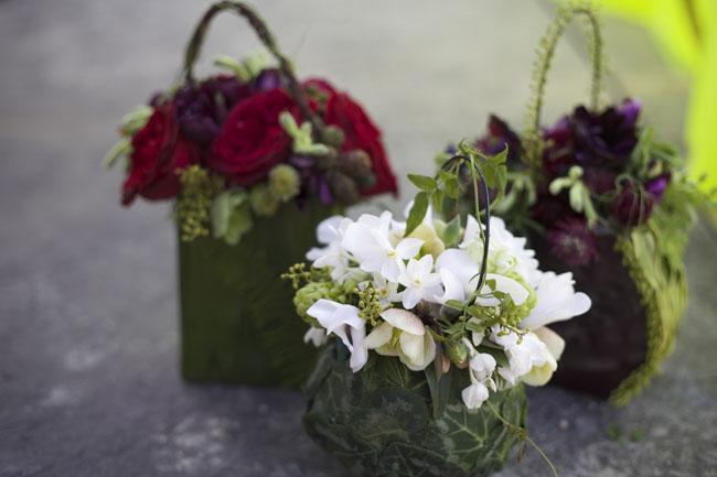 Florabundance Design Days 2016 -  Botanical purses designed by Francoise Weeks