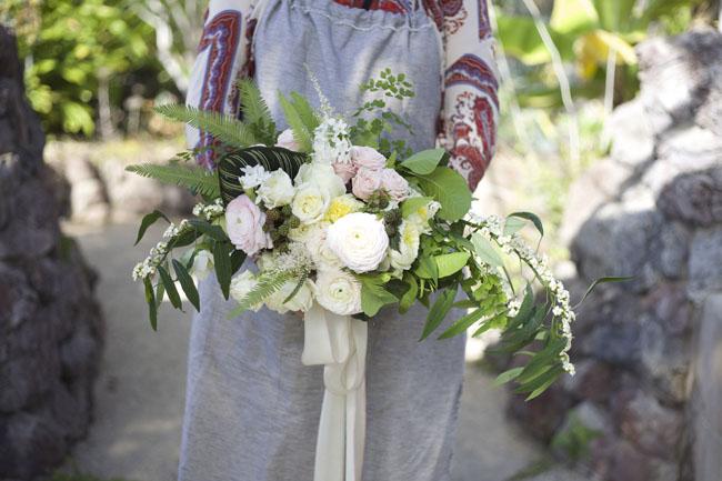 Florabundance Design Days 2016 -  blush bridal bouquet by Sheryl Tynes of Thistle and Bone