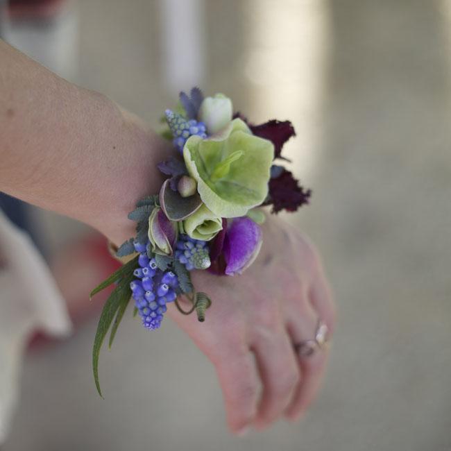 Florabundance Design Days 2016 -  floral wristlet corsage by Mindy Karl of Katalin Green Flowers