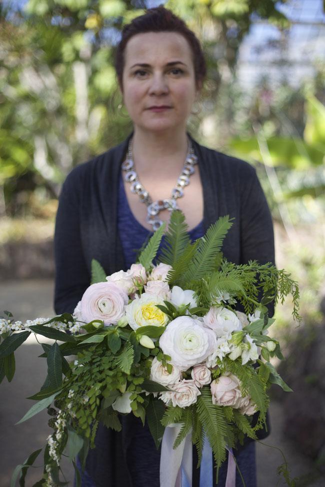 Florabundance Design Days 2016 - Katalin Green Flowers
